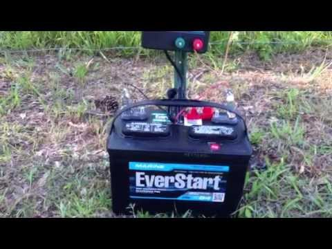 New Fence Charger Battery Powered Quot 15 Mile Quot Zareba With 1