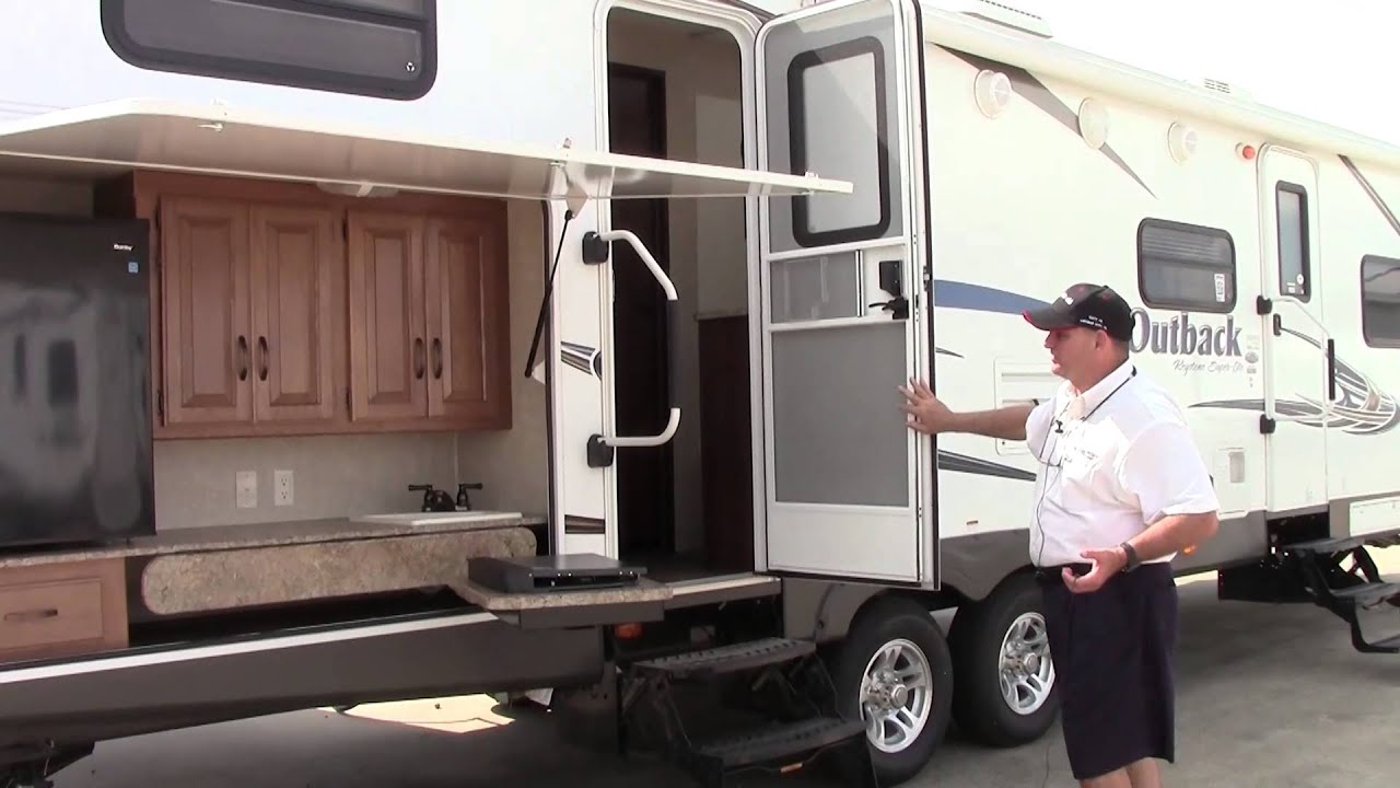 Image Result For Toy Hauler With Outdoor Kitchen