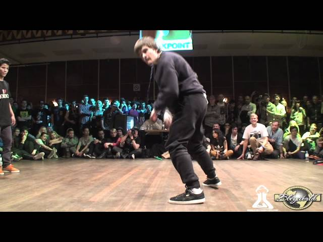 FLEXIBLE FLAV vs MF KIDZ (FLOOR WARS 2012) WWW.BBOYWORLD.COM