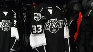Behind the Scenes - Reign Locker Room at Chicago in Allstate Arena