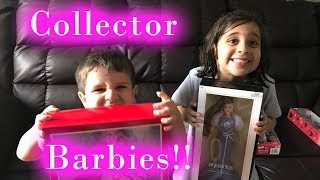 Letting Kids Open Collector Edition Barbies?