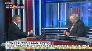 Michael Gove On Right To Buy, Income Tax & General Election