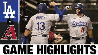 Dodgers smash three home runs in 6-3 win | Dodgers-D-backs Game Highlights 7/30/20