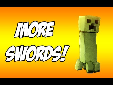 Minecraft: More Swords! [1.4.2] (Mod Review Monday)