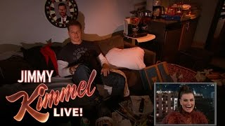 Matt Damon Surprises Idina Menzel