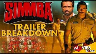 SIMMBA Trailer Breakdown   Ranveer Singh, Sara Ali Khan, AjayDevgan, Sonu Sood