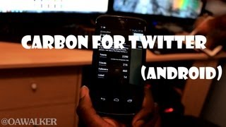 Carbon For Twitter (Android)