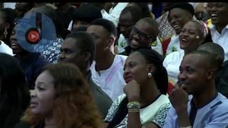 Lucky Wise & Mc Obaro @ Glo Laffta Fest 2017, Benin