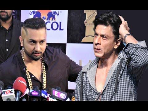Yo Yo Honey Singh On Figth With Shahrukh Khan & Salman Khan At Zee Cine Awards 2016