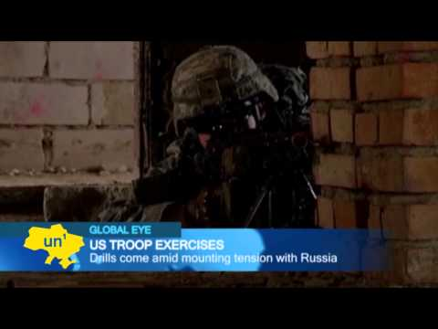 US troops train with Polish forces as NATO members respond to Russian aggression against Ukraine