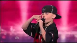 BEST 11 YEAR OLD RAPPER! AMERICAS GOT TALENT CJ DIPPA DALLAS