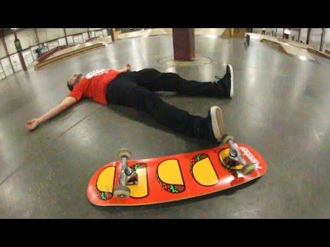 Sucking At Skateboarding 101