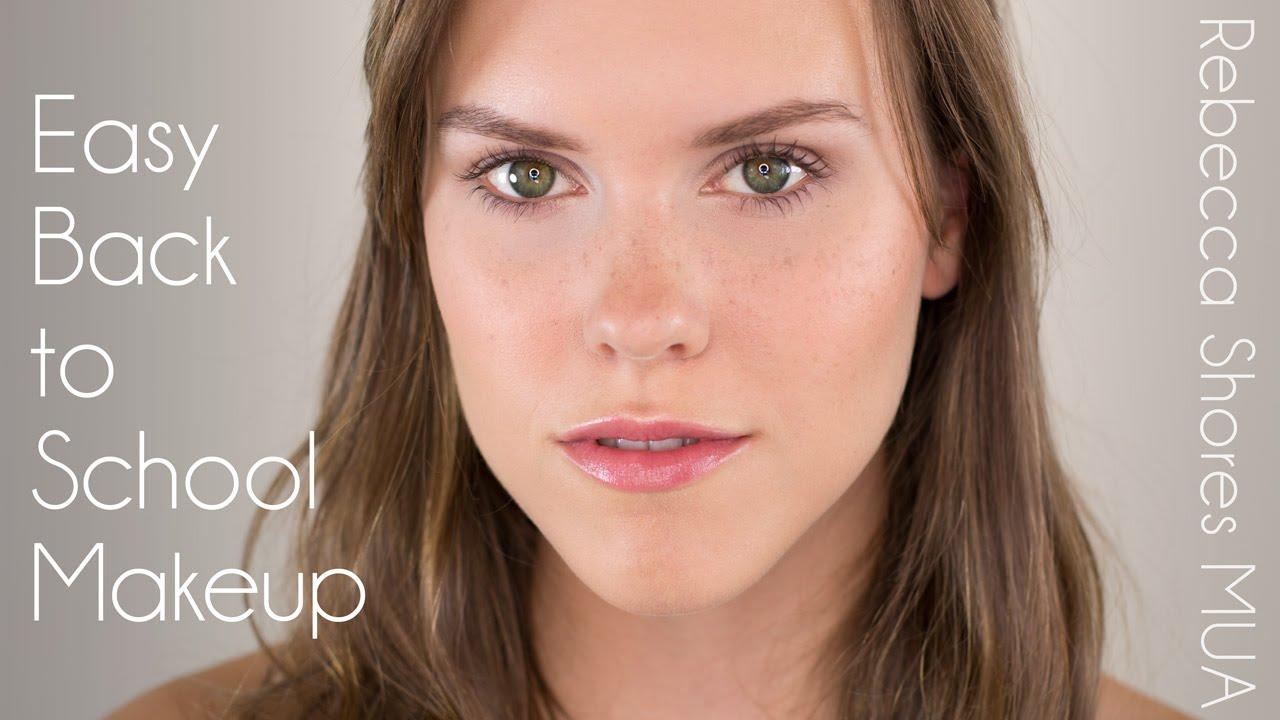 Easy Back to School Makeup Japanese Makeup Tutorial Tumblr