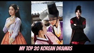 My Top 20 Korean Dramas (2015)