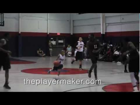 """11 year old 4'5"""" child basketball prodigy (Official Video) Julian Newman of Downey Christian School - 02/27/2013"""