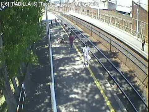 Accidente:  Estación de Tren Padilla en Vicente López
