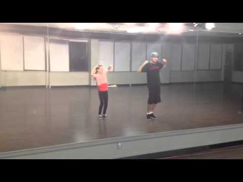 Amazing 10 year old dancing with Alexander Chung