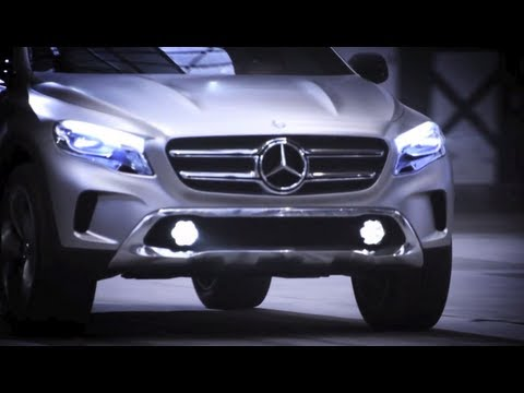 Concept GLA -- Mercedes-Benz Sport Utility Vehicle Video Download