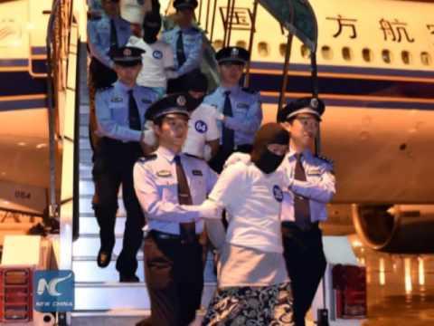 97 telecom fraud suspects repatriated from Malaysia