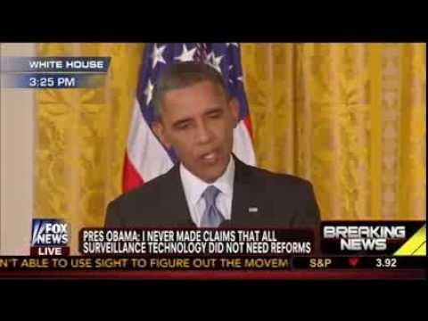 Barack Obama NSA Surveillance Press Conference w/ Chuck Todd: Edward Snowden NOT a Patriot - 8/9/13