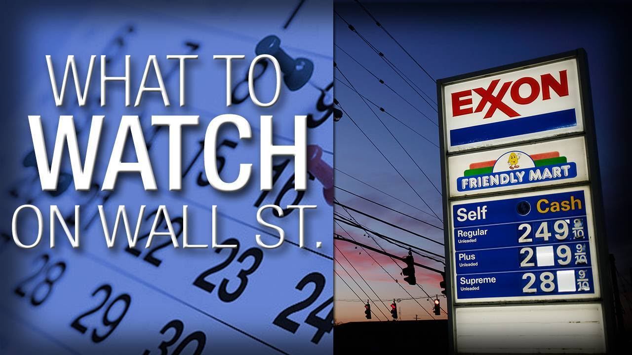 What to Watch: Wall Street Awaiting Earnings from Oil Giants Exxon Mobil and Chevron on Friday