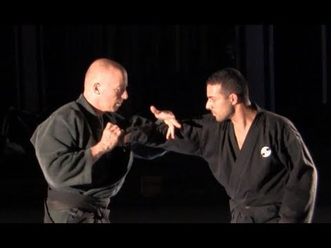 Hon Gyaku Jime, wrist lock, basic - Ninjutsu technique for Akban wiki Image 1