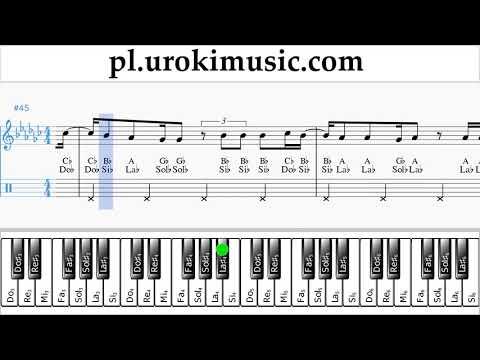 Nauka Gry Na Fortepianie (prawa Ręka) Vaina Loca - Ozuna X Manuel Turizo Nuty Poradnik Um-ih463