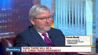 China-U.S. Trade Pact Will Happen and Be Good for Exporters, Kevin Rudd Says