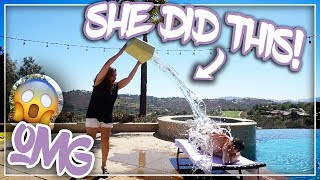 LOOK AT WHAT SHE DID TO ME!!( GOT MAD)