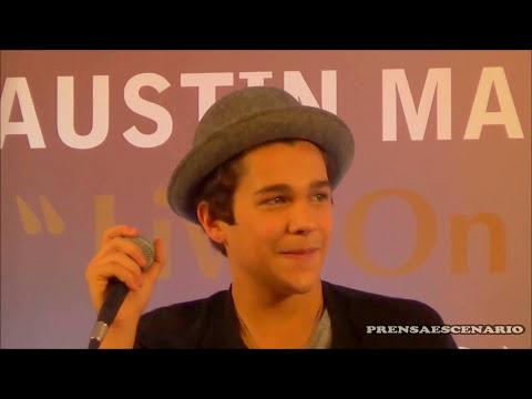 AUSTIN MAHONE-   CONFERENCIA DE PRENSA -  MEXICO