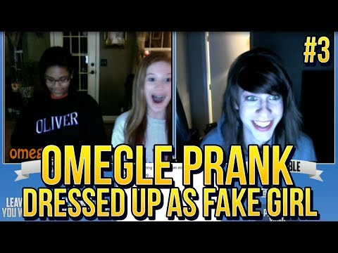 Omegle Prank Dressed Up As A Fake Girl! #3 video