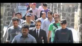 Bodyguard - Salman Khan Having Fun on The Sets of Bodyguard