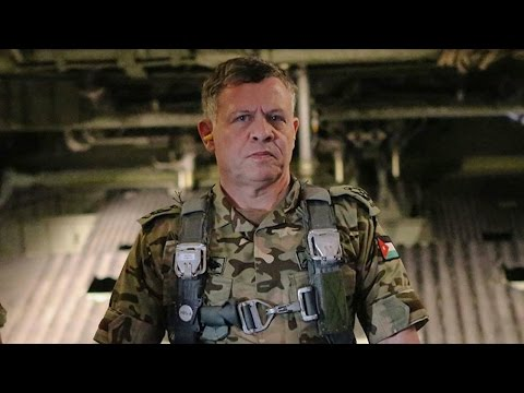 Fox News Has A Wargasm Over King Abdullah In Flight Suit