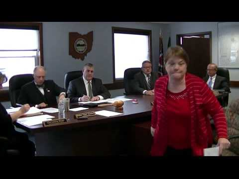 Geauga County Commissioners' Meeting, 1/11/2016