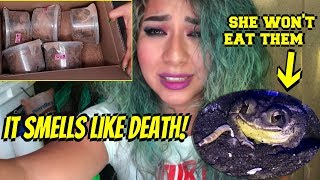 they sent me dead worms in the mail! UNBOXING GONE WRONG