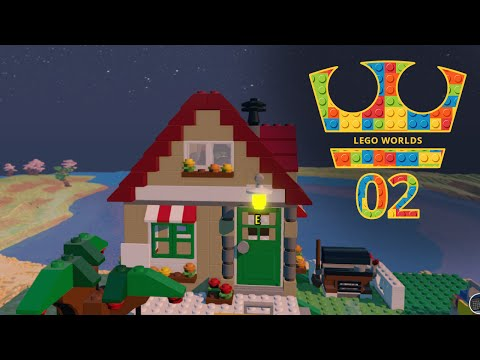 Jirka Hraje - Lego Worlds 02 - První baráček!