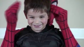 SUPERHEROES DANCING WITH SPIDERMAN DANCE AND BATMAN Funny Movie in Real Life