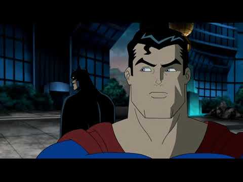 Супермен и Бэтмен против суперзлодеев  ч 2