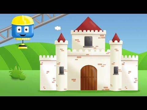 Замок | Том и Мэтт, грузовички - строители |Мультфильм о машинках для детей