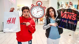 Who can buy the MOST CLOTHES in 15 minutes?!