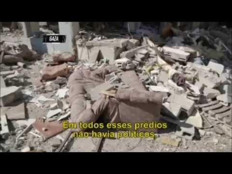 Conflito em GAZA CQC Brasil - Completo (3 Semanas)