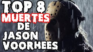 TOP 8 MUERTES DE JASON VOORHEES | Especial Halloween | The Anonymous
