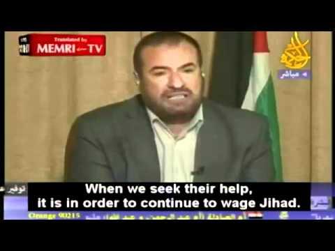 Hamas Interior Minister: We are Egyptians and Saudis,  Allahu Akbar