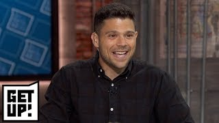 Jerry Ferrara interview on Kawhi to Raptors, New York Knicks and Mike Trout   Get Up!   ESPN