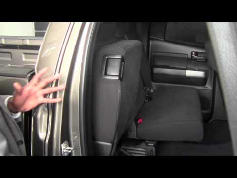 2015 Toyota Highlander Xle >> 2012 Toyota Tundra Back Seat Adjustments How To by Toyota ...