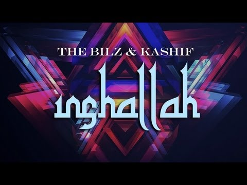 The Bilz & Kashif - Inshallah Official Lyric Video [Massari - Shisha ft. French Montana Remix]