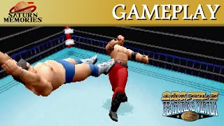 All Japan Pro Wrestling Featuring Virtua [Saturn] By SEGA [HD] [1080p]