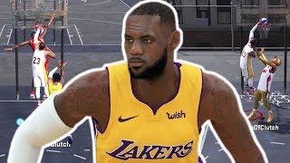 LEBRON JAMES LAKERS MIXTAPE! CRAZY CONTACT DUNKS! NBA 2K18