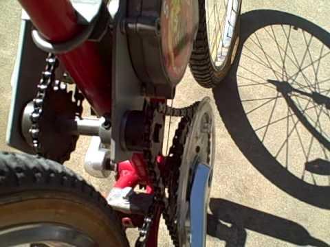 six speed 80cc bike