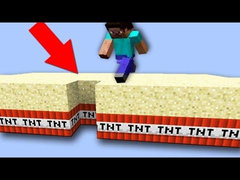 ЗАЧЕМ ДИНАМИТ ПОД ПЕСКОМ?! ВСЕ МИНИ-ИГРЫ МАЙНКРАФТА ЧЕЛЛЕНДЖ №13 Minecraft TNT Run